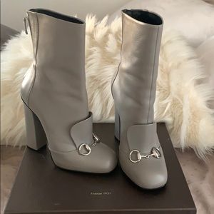 Gucci booties 37 1/2